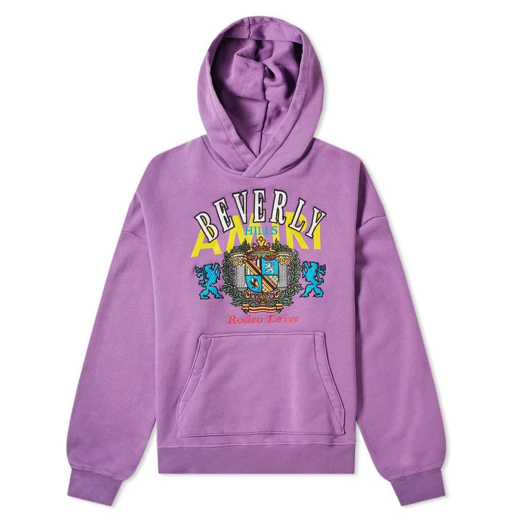 AMIRI Beverly Hills Oversized Hoody Purple