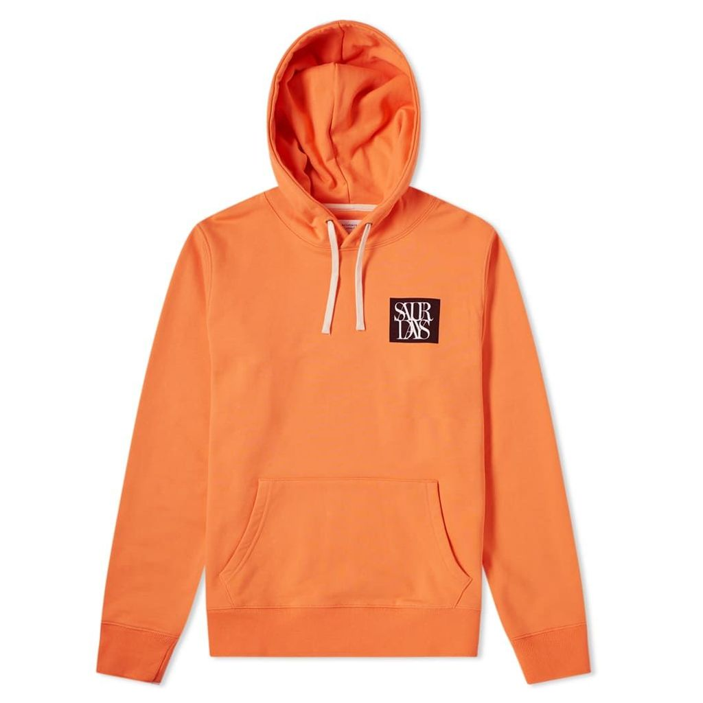 Saturdays NYC Ditch Overlap Hoody Peach