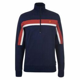 Farah Sport Palmer  half  Zip Sweater