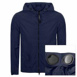 CP Company Goggle Hood Overshirt Jacket Blue