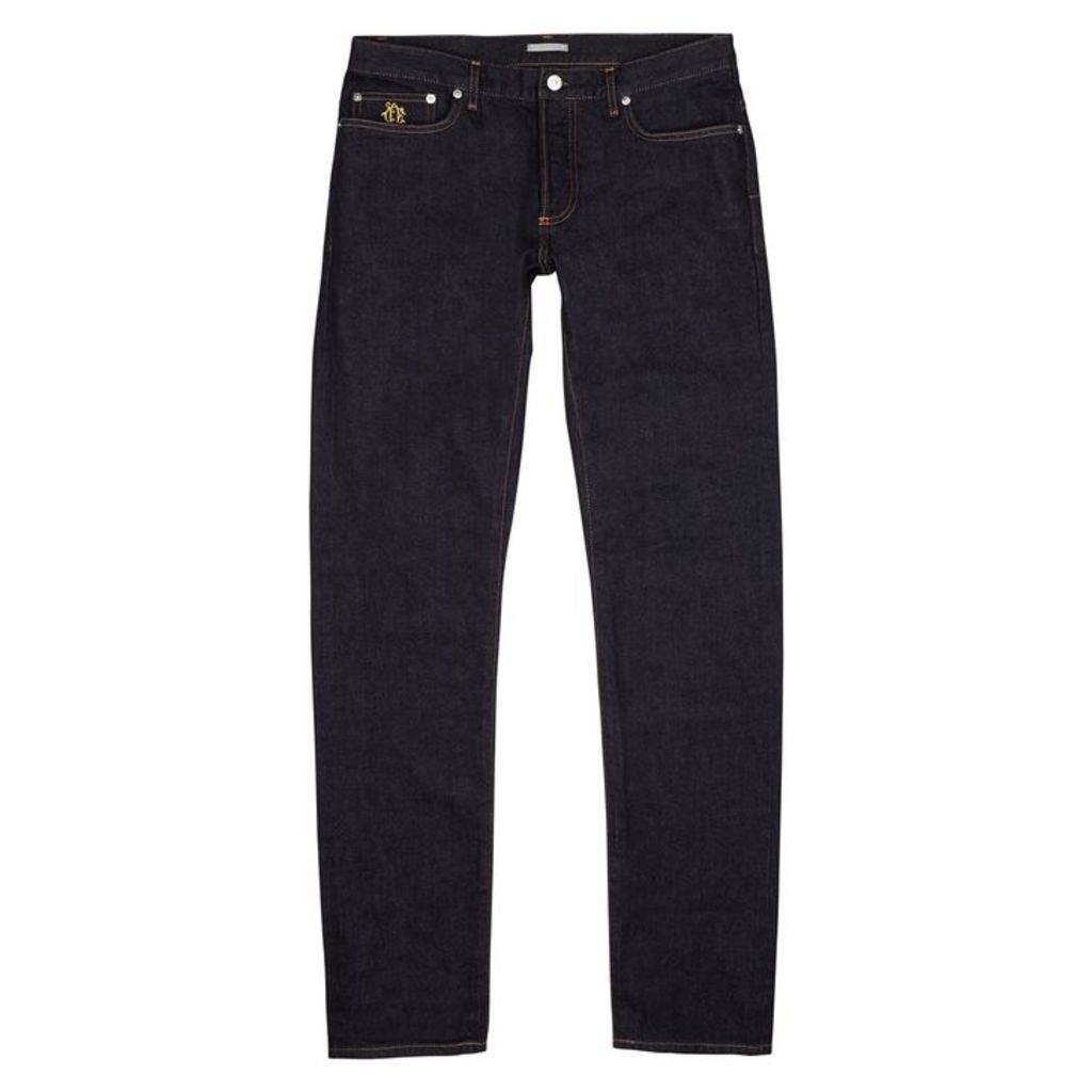 Dior Homme Indigo Raw Selvedge Jeans