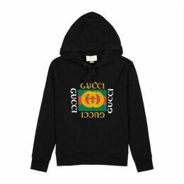 Gucci Logo-print Hooded Cotton Sweatshirt