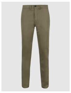 M&S Collection Italian Slim Fit Travel Chinos with Stretch