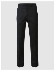 M&S Collection Navy Skinny Fit Trousers