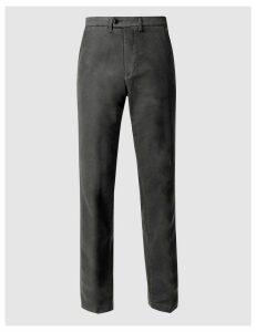 M&S Collection Pure CottonItalian MoleskinTrousers