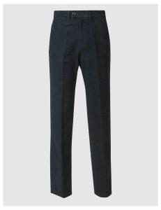 M&S Collection Regular Fit Pure CottonItalian MoleskinTrousers