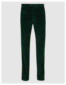 M&S Collection Regular Fit Corduroy Trousers with Stretch