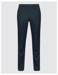 M&S Collection Slim Fit Travel Chinos with Stretch
