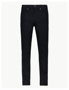 M&S Collection Tapered Fit Stretch Jeans