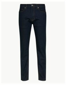 M&S Collection Big & Tall Straight Fit Stretch Jeans
