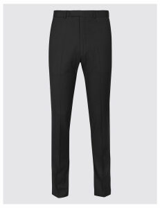 Limited Edition Black Textured Skinny Fit Trousers