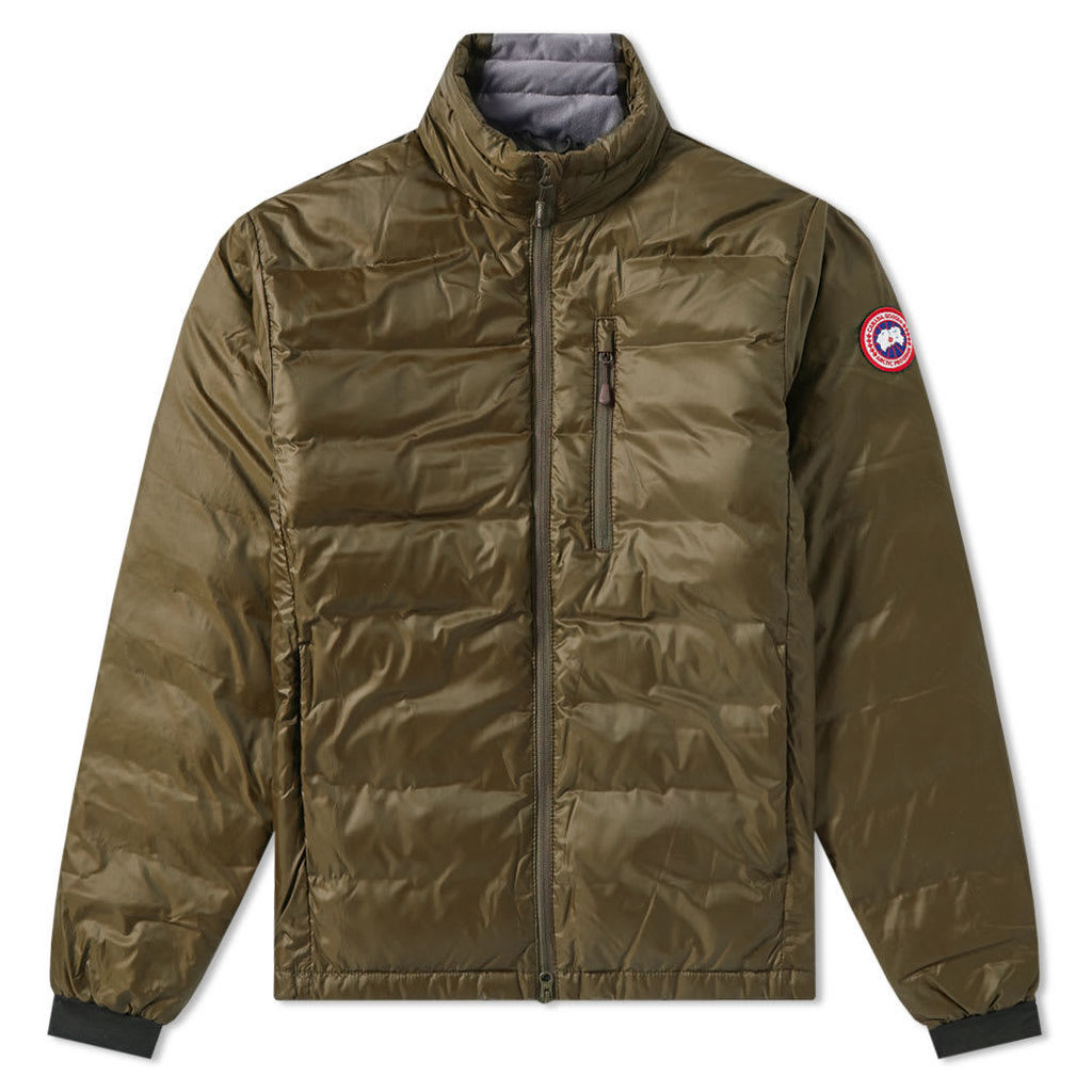 Canada Goose Lodge Jacket Military Green & Slate