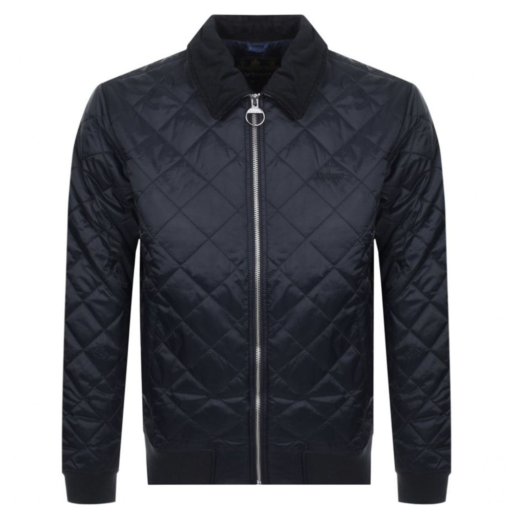 Barbour Skerry Quilted Jacket Navy
