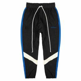 Daniel Patrick Black Panelled Shell Sweatpants