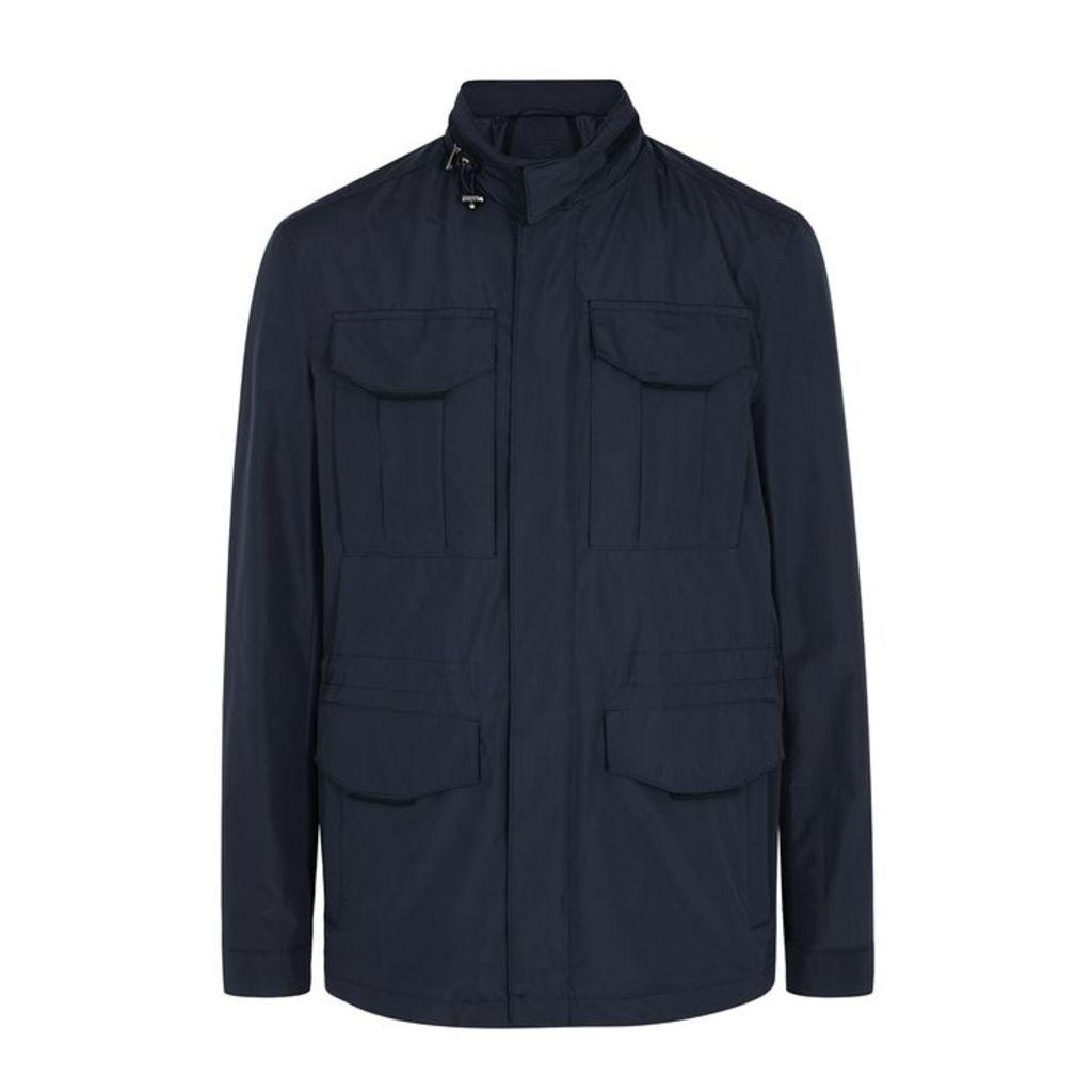 Corneliani Navy Shell Jacket