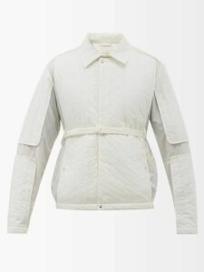 A.p.c. - Touitronic Hooded Rain Jacket - Mens - Navy