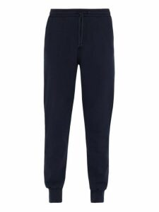 Holiday Boileau - Cotton Track Pants - Mens - Navy