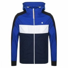 G Star Raw Setscale Hooded Jacket Blue