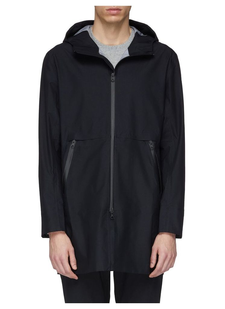 'Sideline' waterproof hooded jacket