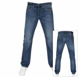 Replay Newbill Comfort Fit Jeans Blue
