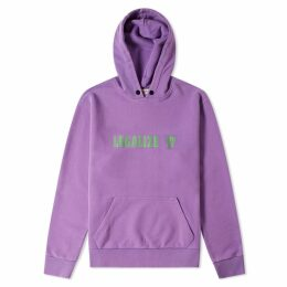 Palm Angels Legalize It Hoody Purple