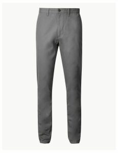 M&S Collection Tapered Fit Pure Cotton Chinos
