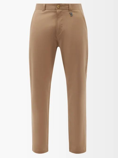 Givenchy - Logo Embroidered Cotton Jersey Track Pants - Mens - Black