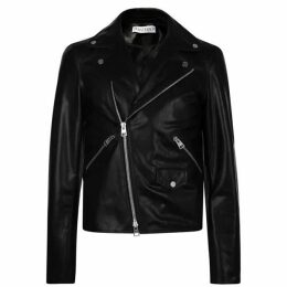 JW Anderson Gilbert And George Leather Biker Jacket