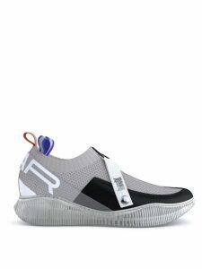 SWEAR Crosby knit sneakers - Grey/Black/White