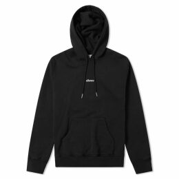 AMI Embroidered Silence Hoody Black