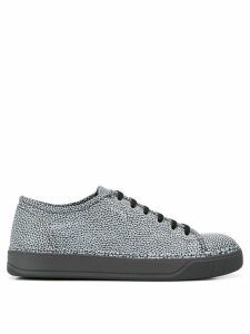 Lanvin metallic low top sneakers - Black
