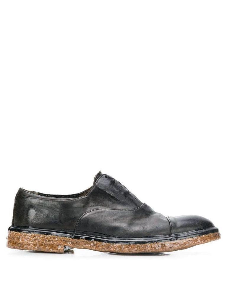 Premiata laceless oxford shoes - Black