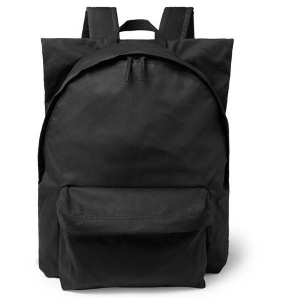 Raf Simons - + Eastpak Printed Shell And Cotton-canvas Backpack - Black
