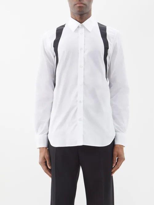 Incotex - Cotton Blend Chino Trousers - Mens - Grey