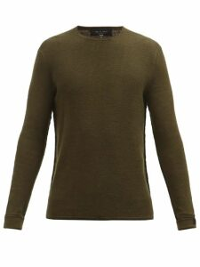 The Gigi - Santiago Cotton Trousers - Mens - Navy