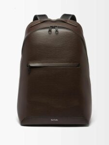 Ralph Lauren Purple Label - Logo Embroidered Cotton Blend Track Pants - Mens - Black