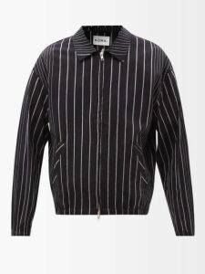 2 Moncler 1952 - Patchwork Hooded Jacket - Mens - Brown Multi