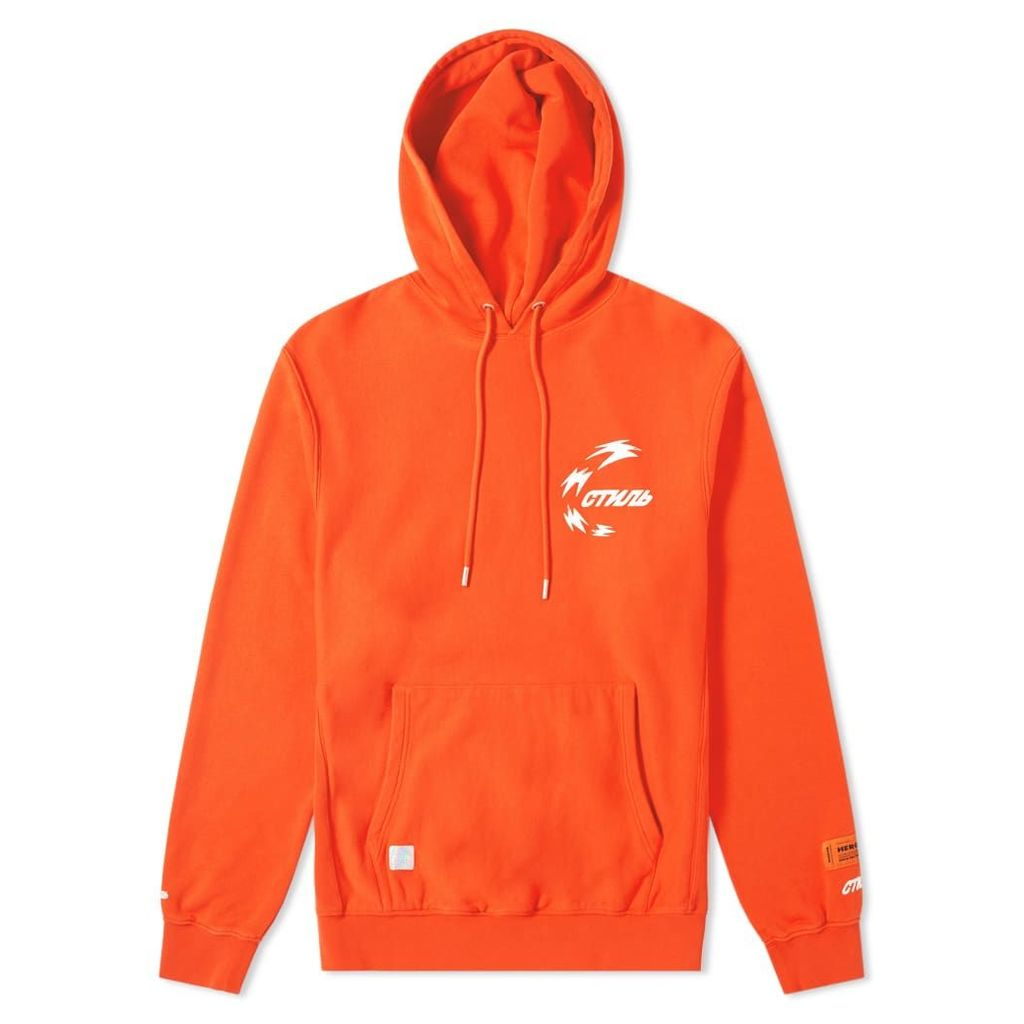 Heron Preston Chinese Heron Hoody Coral Red