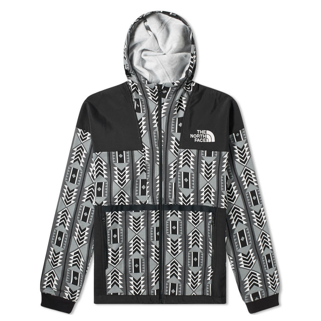 The North Face 92 Rage Fleece Hoody White Rage Print