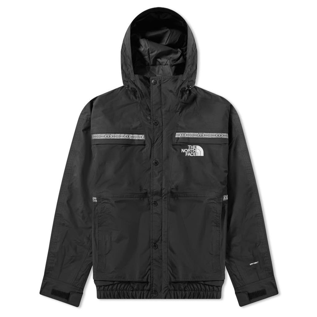 The North Face 92 Retro Rage Rain Jacket Black