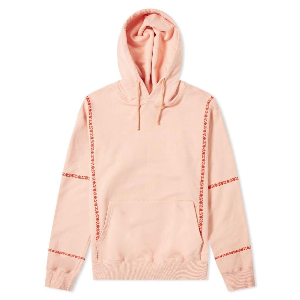 ADISH Hawajez Embroidered Hoody Pink