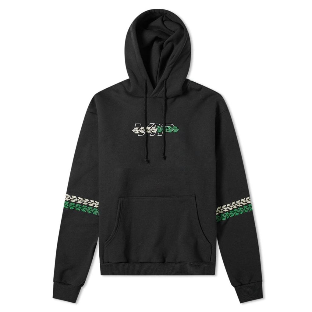 ADISH VIP Embroidered Hoody Black