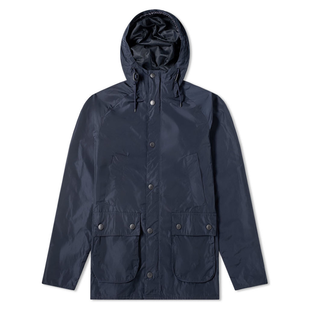 Barbour Hooded Bedale - Japan Collection Navy