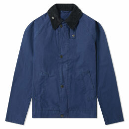 Barbour Short Bedale Jacket - Japan Collection French Navy