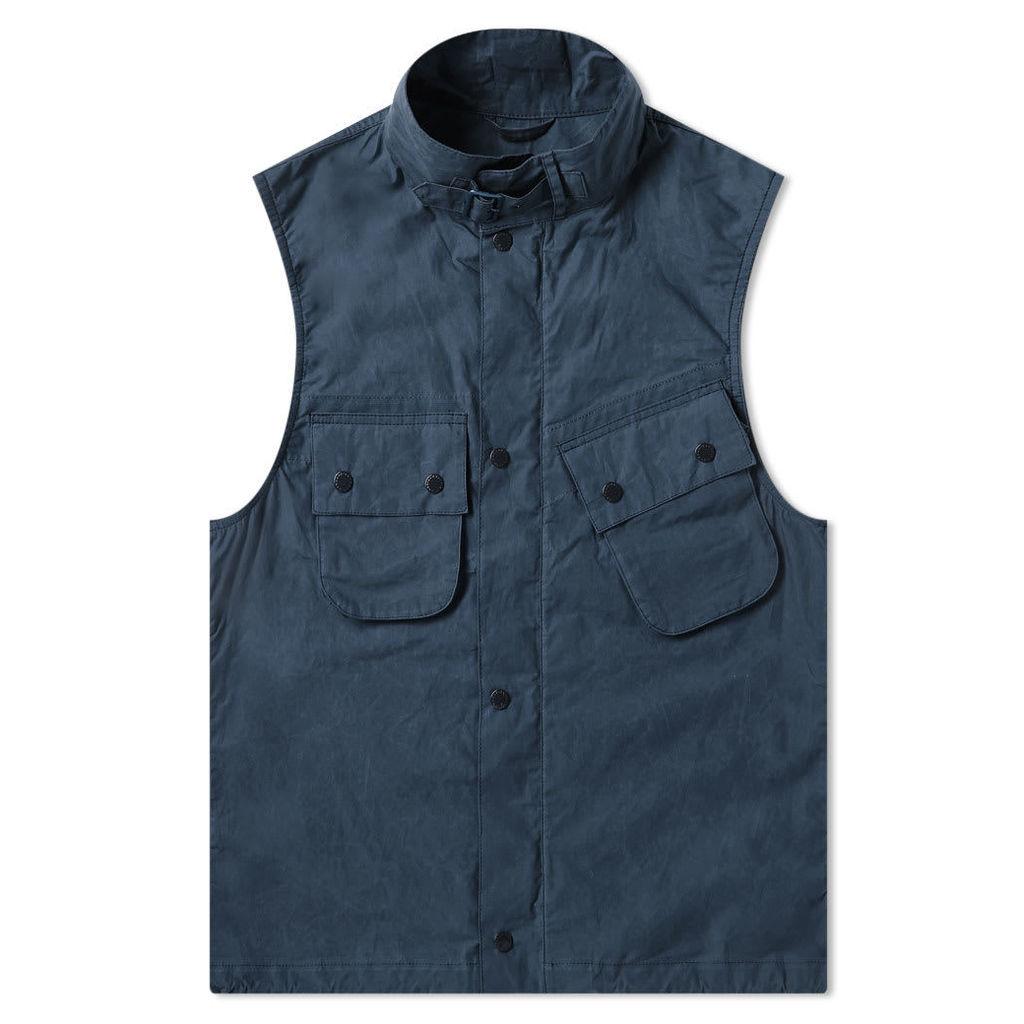 Barbour x Engineered Garments Arthur Gilet Navy