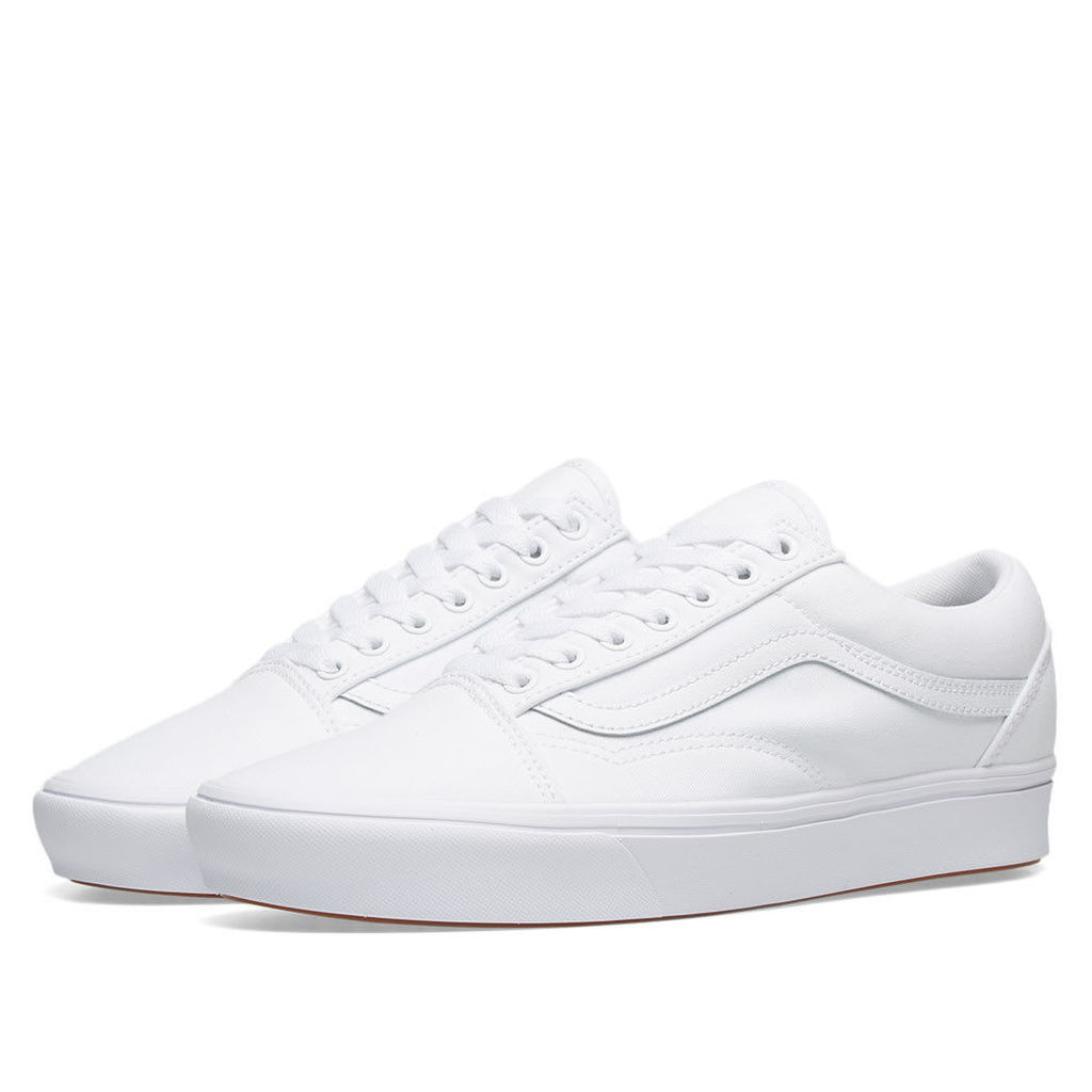 Vans UA ComfyCush Old Skool True White