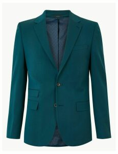 M&S Collection Slim Fit Jacket with Stretch