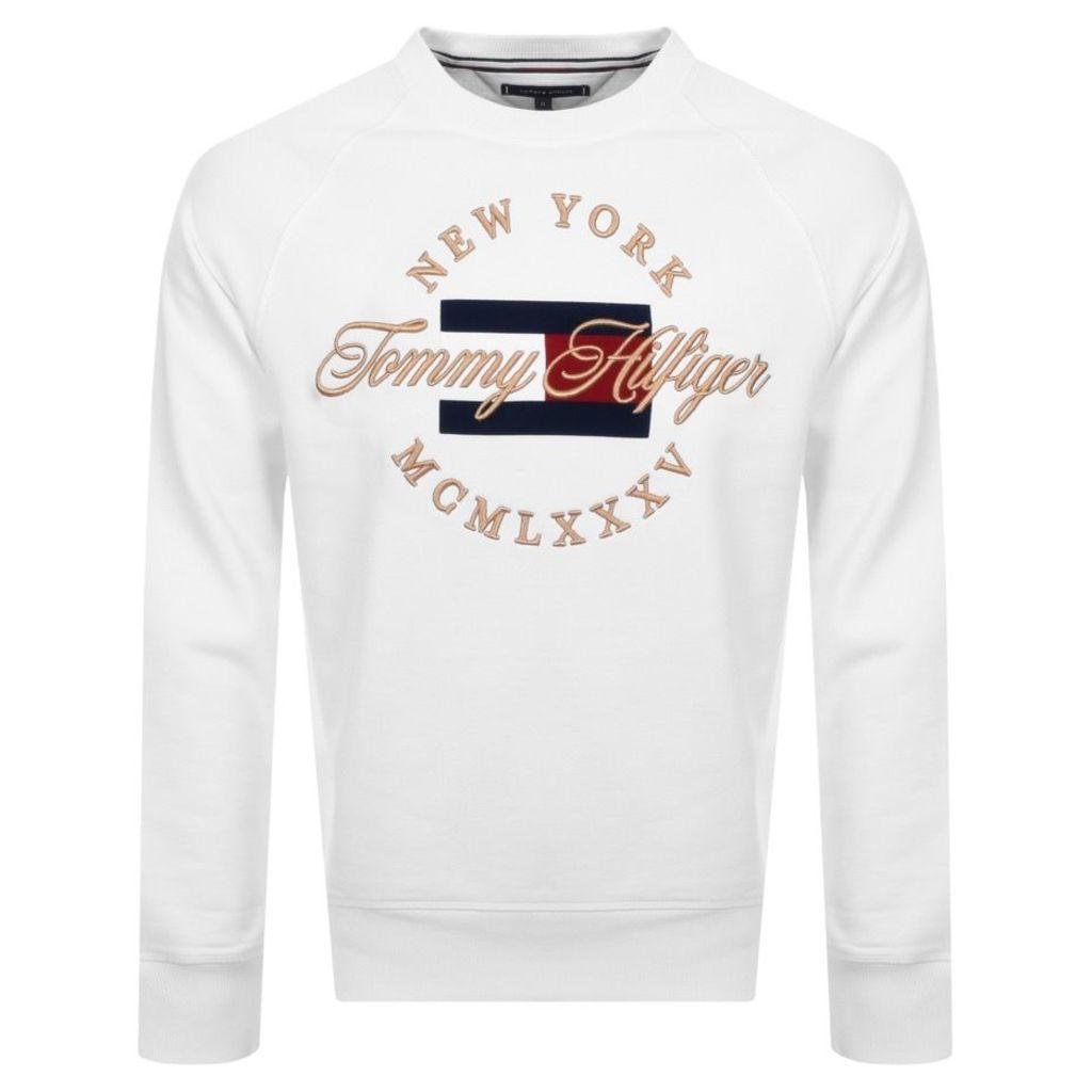 Tommy Hilfiger Icon Sweatshirt White