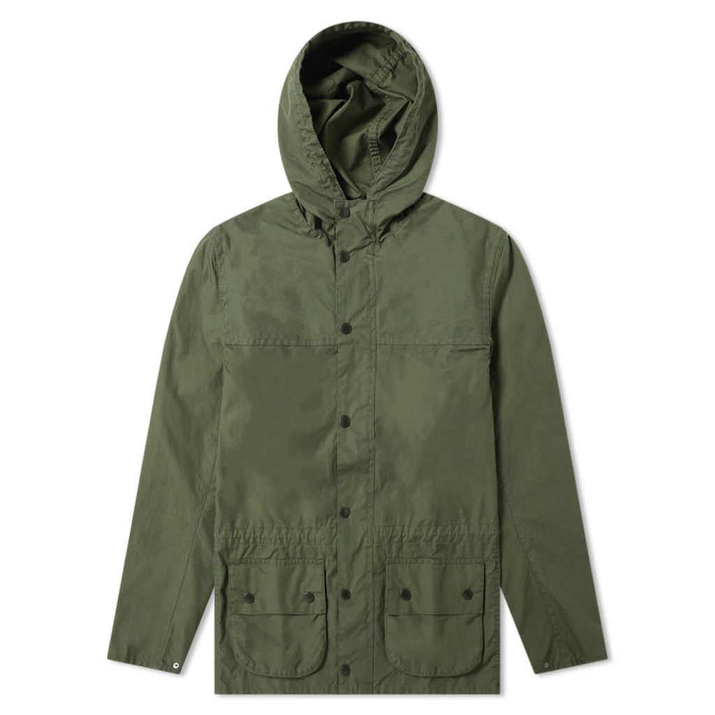 Barbour Durham Casual Jacket - Japan Collection Racing Green