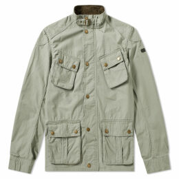Barbour International Tees Ripstop Jacket Military Green